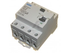 80 Amp 100mA Time Delay RCD 4 pole RCCB