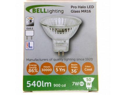 LED 50 Watt Equiv. MR16 12V Lamp Cool White GU5.3