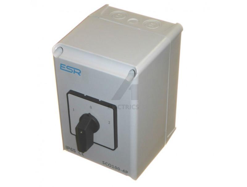 100 Amp 4P Changeover Switch 400V