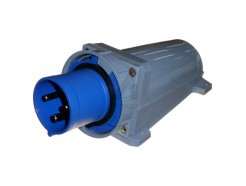 63A 2P+E IP67 Appliance Inlet - Industrial 3 Pin 230V