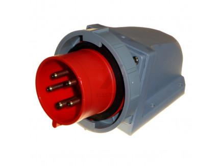 32A 3P+N+E 415V IP67 Appliance Socket Red