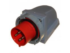 32A 3P+E 415V IP67 Appliance Socket Red