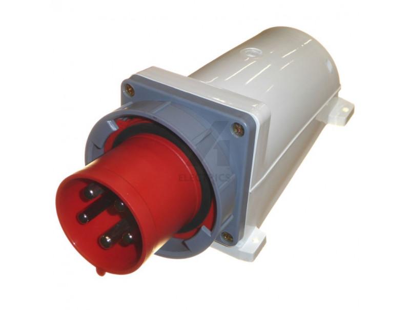 ESR Red 16 Amp 5 Pin Interlock Socket Switch 3P+N+E Weatherproof IP44 16A