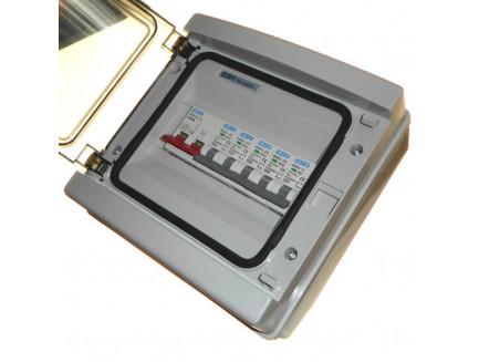 6 Way IP65 Consumer Unit with Isolator