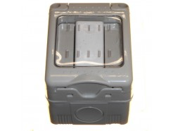 Single Outdoor Switch with Membrane Cover IP55