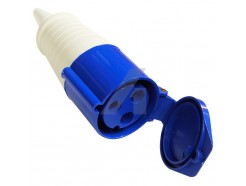 16A 3 Pin Coupler 240V IP44 Blue