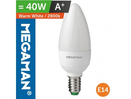 LED 40 Watt Candle Lamp SES Warm White