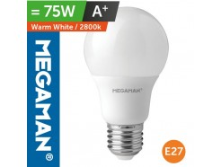 LED 75 Watt Equiv. GLS Light Bulb BC Bayonet Warm White
