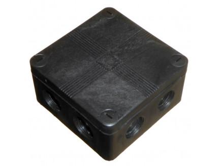 IP66 Waterproof Junction Box 90mm Black