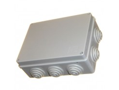 190mm Waterproof Junction Box with Grommets IP56