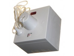45A Shower Pull Switch with 47mm Surface Box