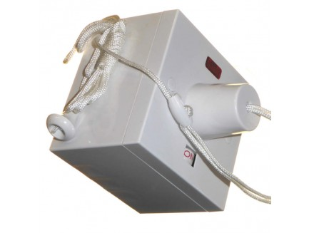 50A Shower Pull Switch with 47mm Surface Box