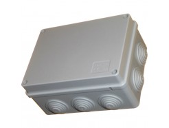 150mm Junction Box with Grommets IP56