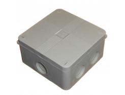 IP66 Waterproof Junction Box 110mm Grey