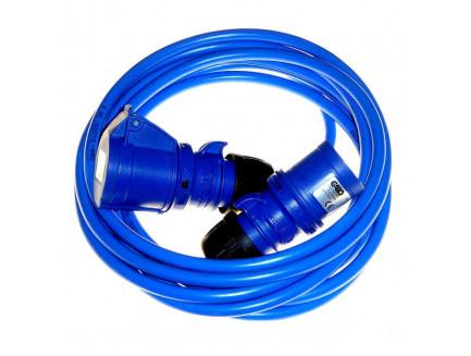 5m x 16A Hookup Lead 230v EHU 2.5mm