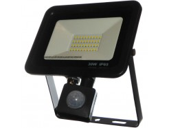 30W LED PIR Floodlight - Daylight