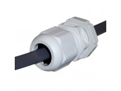 Wiska 1-1.5mm T&E Cable Gland - Grey