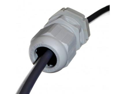 Wiska 2.5-4mm T&E Cable Gland - Grey