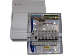 Metal 80A RCD Consumer unit with MCBs