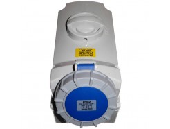 32A 3 Pin Interlocked Socket 240V IP67 Blue