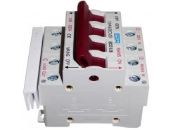 125A 230V Changeover Switch Mains - Generator