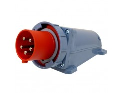 63A 5 Pin IP67 Appliance Inlet - 400V 3 Phase
