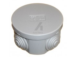 65mm IP44 Junction Box WIth Removeable Grommets
