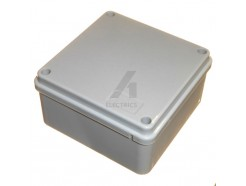 Weatherproof junction box 100mm x 100mm x 50mm