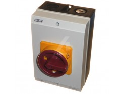 63 amp 4 pole rotary isolator IP65